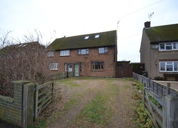Thumbnail 4 bedroom semi-detached house for sale in Banbury Lane, Rothersthorpe, Northampton