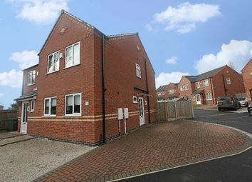Thumbnail 3 bed semi-detached house to rent in Amber Grove, Forest Town, Mansfield