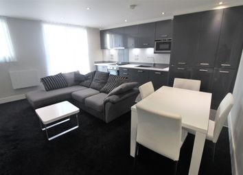 Thumbnail 1 bed flat to rent in Indigoblu, 14 Crown Point Road, Leeds