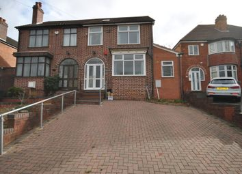 Thumbnail 4 bed semi-detached house to rent in Cole Valley Road, Birmingham