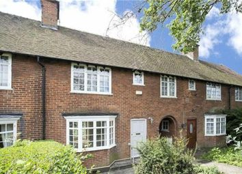 Thumbnail 3 bed terraced house for sale in Falloden Way, Hampstead Garden Suburb