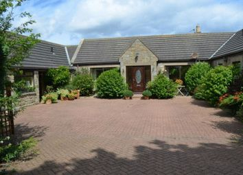 Thumbnail 4 bed detached bungalow for sale in High Hauxley, Morpeth