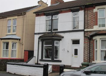 Thumbnail 3 bed end terrace house for sale in Urmson Road, Wallasey