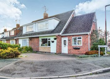 Thumbnail 3 bed semi-detached house for sale in Chiltern Road, Lincoln