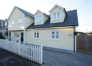 Thumbnail 4 bed detached house for sale in Crescent Road, Benfleet