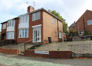 Thumbnail 3 bed semi-detached house to rent in Braunstone Avenue, Leicester