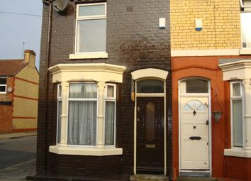 Thumbnail 2 bed end terrace house to rent in Plumer Street, Liverpool