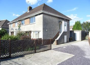 Thumbnail 2 bed flat for sale in Heol Cae Glas, Sarn, Bridgend