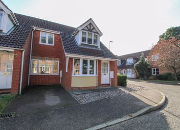 Thumbnail 3 bed terraced house for sale in Firethorn Close, Taverham, Norwich