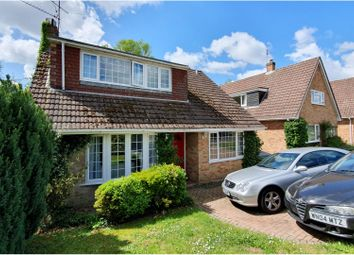 Thumbnail 3 bed detached house for sale in Keswick Drive, Lightwater