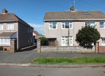 Thumbnail 3 bedroom semi-detached house for sale in Mount Pleasant Way, Milford Haven, Pembrokeshire