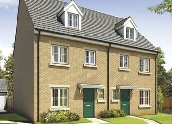 "Thumbnail 4 bed town house for sale in ""The Monnow"" at Station Road, Church Village, Pontypridd"