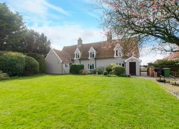 Thumbnail 4 bed farmhouse for sale in Grove Road, Banham, Norwich