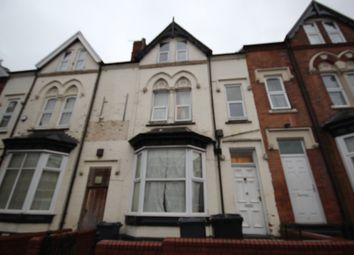 Thumbnail 8 bed terraced house for sale in City Road, Birmingham, West Midlands