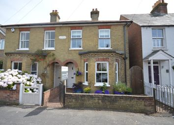 Thumbnail 3 bed semi-detached house for sale in Western Road, Lymington