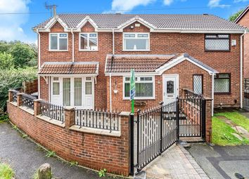 Thumbnail 3 bed semi-detached house to rent in Ellerby Avenue, Clifton, Swinton, Manchester