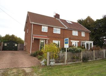 Thumbnail 4 bed semi-detached house for sale in Weasenham, King's Lynn, Norfolk