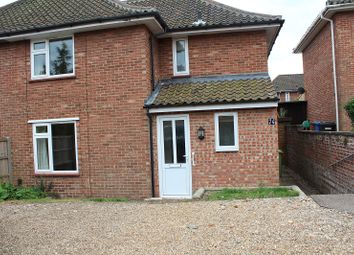 Thumbnail 4 bedroom semi-detached house to rent in Nasmith Road, Norwich