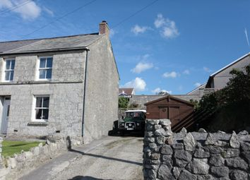 Thumbnail 2 bedroom end terrace house for sale in Jubilee Terrace, Hendra Road, St Dennis, St Austell, Cornwall