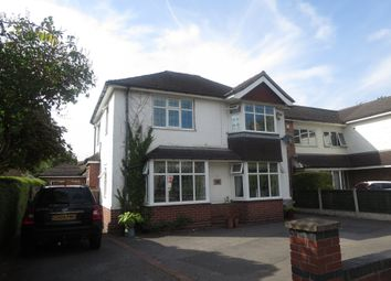 Thumbnail 4 bed detached house for sale in Whitmore Road, Westlands, Newcastle, Staffordshire