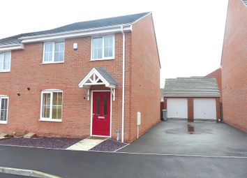 Thumbnail 4 bed semi-detached house to rent in Brownley Road, Clipstone Village, Mansfield
