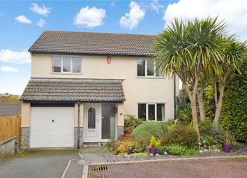 Thumbnail 4 bed detached house for sale in Newnham Close, Plymouth, Devon