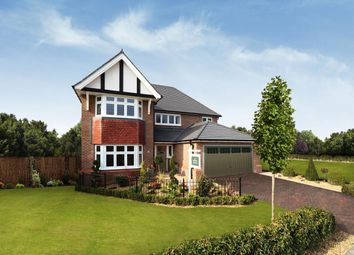 Thumbnail 4 bedroom detached house for sale in The Orchards, Pulley Lane, Droitwich, Worcestershire