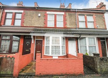 Thumbnail 2 bedroom end terrace house for sale in Selbourne Road, Luton