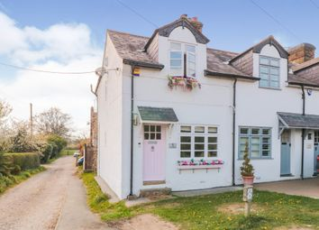 Thumbnail 2 bed cottage for sale in Harlow Road, Moreton, Ongar
