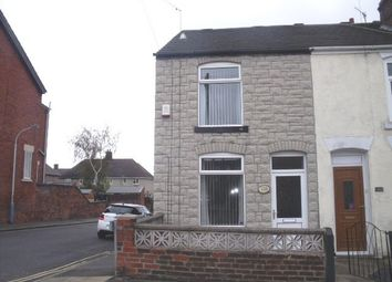 Thumbnail 2 bed end terrace house to rent in Wellington Street, New Whittington, Chesterfield
