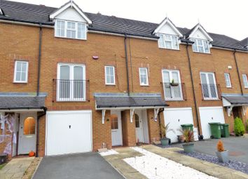 Thumbnail 3 bed town house for sale in Alfriston Close, Braeburn Park, Crayford, Kent