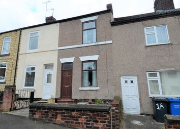 Thumbnail 2 bed terraced house for sale in William Street North, Old Whittington, Chesterfield