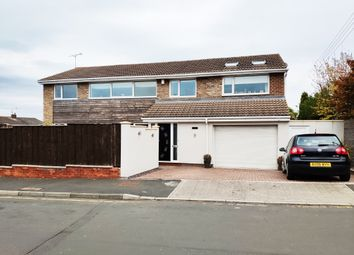 Thumbnail 5 bed detached house for sale in Park Lea, East Herringotn, Sunderland