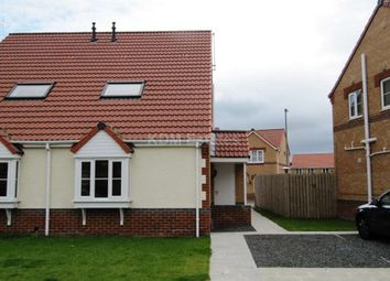 Thumbnail 1 bed semi-detached house to rent in Warner Avenue, St. Helen Auckland, Bishop Auckland