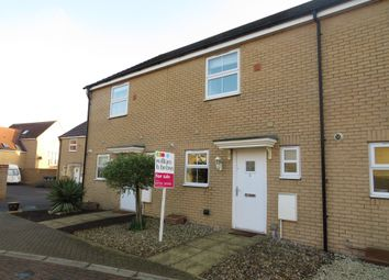 Thumbnail 2 bed terraced house for sale in Livingstone Road, Yaxley, Peterborough