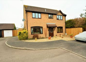 Thumbnail 4 bed detached house for sale in Burgess Close, Stratton, Wiltshire.