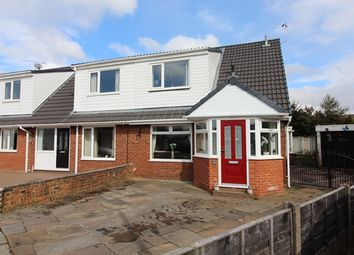 Thumbnail 3 bed semi-detached house for sale in 49 Shipston Close, Walshaw Park, Bury