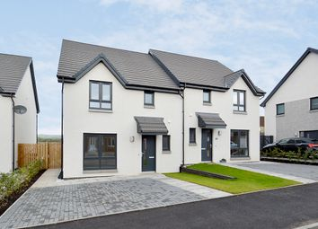 Thumbnail 3 bed semi-detached house for sale in 6 Acremoar Drive, Off The A922/South Street, Kinross