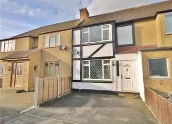 Thumbnail 3 bed terraced house for sale in Warwick Avenue, Egham, Surrey