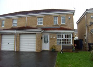 Thumbnail 3 bed semi-detached house to rent in Aintree Close, Ashington