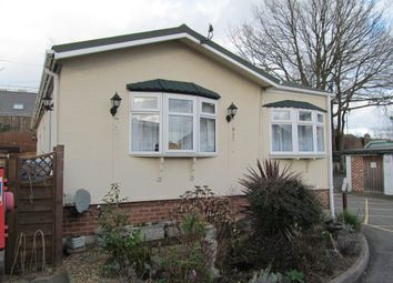 Thumbnail 2 bed mobile/park home for sale in Woodvale Park, Sutton Roaf (Ref 5214), St. Albans, Hertfordshire