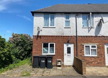 Thumbnail 2 bed end terrace house to rent in Selbourne Road, Luton