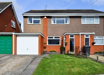 Thumbnail 3 bed semi-detached house for sale in Pebworth Close, Redditch