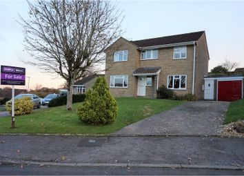 Thumbnail 4 bed detached house for sale in Sycamore Drive, Crewkerne