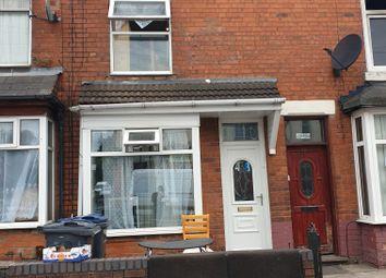 Thumbnail 3 bed terraced house for sale in Blake Lane, Bordesley Green, Birmingham, West Midlands