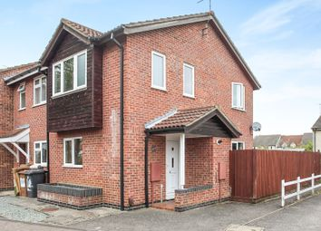 Thumbnail 2 bedroom end terrace house for sale in Sunnymead, Werrington, Peterborough