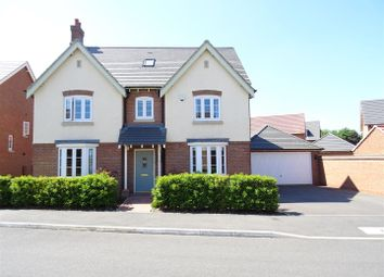 Thumbnail 5 bed detached house for sale in Baker Grove, Ibstock, Leicestershire