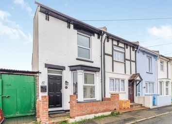 Thumbnail 2 bedroom end terrace house for sale in Queens Road, Gillingham, Kent, .