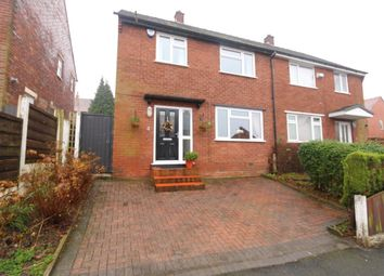 Thumbnail 3 bed semi-detached house for sale in Worthington Road, Denton, Manchester