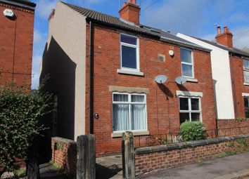 Thumbnail 2 bed semi-detached house to rent in Heaton Street, Brampton, Chesterfield